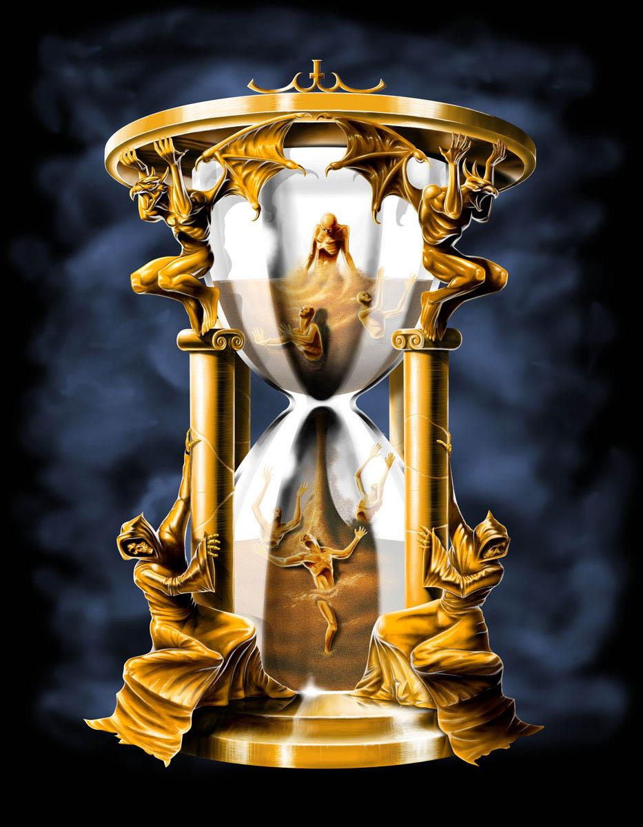 Sanduhr des lebens  Die geregelte Hurerei im Wort, und sein Überdruckventil reagiert ...